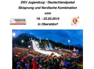 DSV JC DP Ausschreibung Skisprung NK Oberstdorf 2015