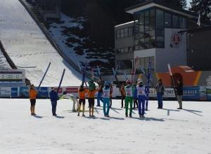 Verabschiedung Skispringer