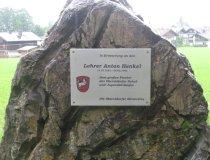 Gedenkstein Lehrer Anton Henkel