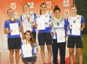 Podium Deutsche Meisterschaft 2015 Skispringen Damen