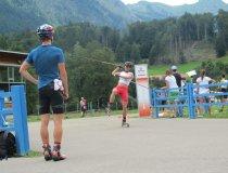 Zieleinlauf Johannes Rydzek bei den Deutschen Meisterschaften 2015