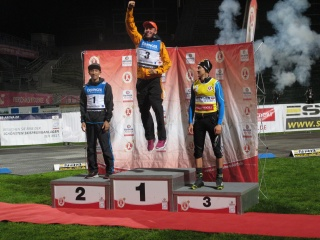 Siegerehrung FIS Sommer Grand Prix 2015