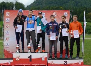 Podium J16 Nordische Kombination 19.09.2015