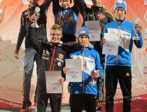 Podium Skispringen J16 19.09.2015