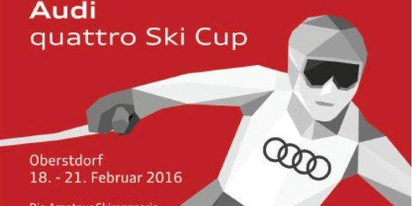 Plakat Audi quattro Ski Cup