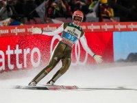 Michael Neumayer bei der vergangenen Vierschanzentournee 2015 in Oberstdorf