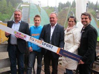 Kooperation ProSport und Feneberg