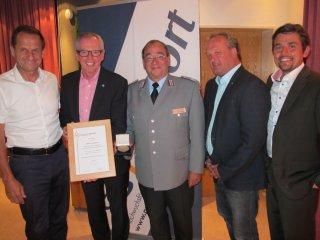 Besondere Auszeichnung für das Allgäuer Anzeigeblatt im Rahmen der JH von ProSport