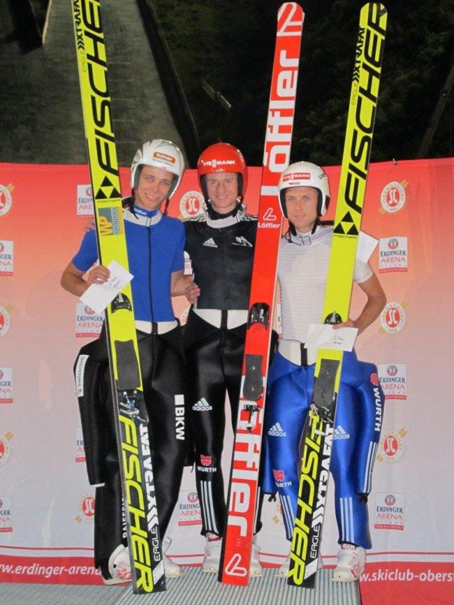 Luca Egloff, Karle Geiger, Tim Fuchs