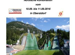 Ausschreibung DSV Jugendcup/Deutschlandpokal Nordische Kombination 2016