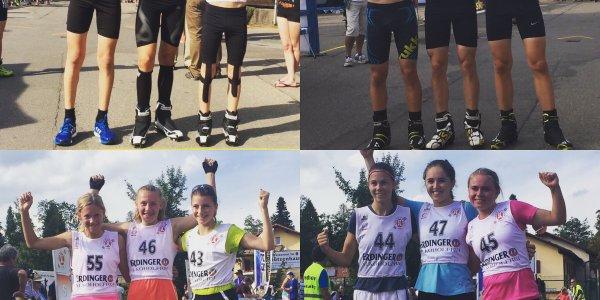Die Sieger beim ersten Rennen des FIS Youth Cup in Oberstdorf