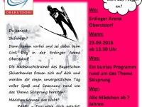 Girls Day 2016 in der Erdinger Arena