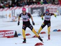 Katrin Zeller bei der Tour de Ski in Oberstdorf