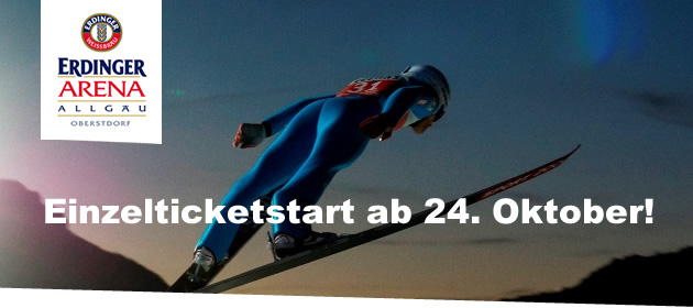 Newsletter Einzelticketstart