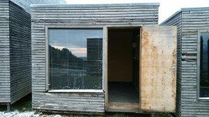 Holzhütten Außenansicht