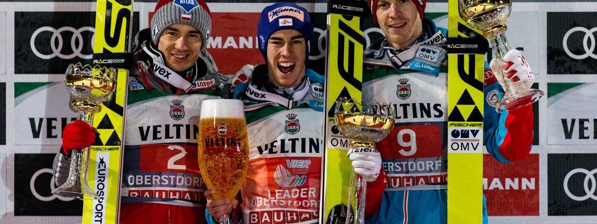 Stefan Kraft gewinnt den Auftakt der Vierschanzentournee in Oberstdorf