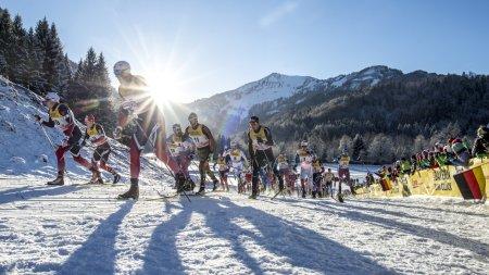 Absolutes Traumwetter bei der FIS Tour de Ski in Oberstdorf