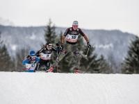 Nicole Fessel vom Skiclub Oberstdorf war beste Deutsche mit Rang 6