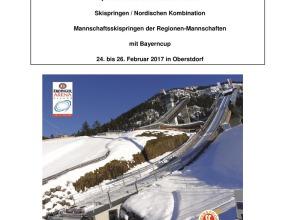 Bayerische Schülermeisterschaften Bayerncup SP NK Oberstdorf 2017