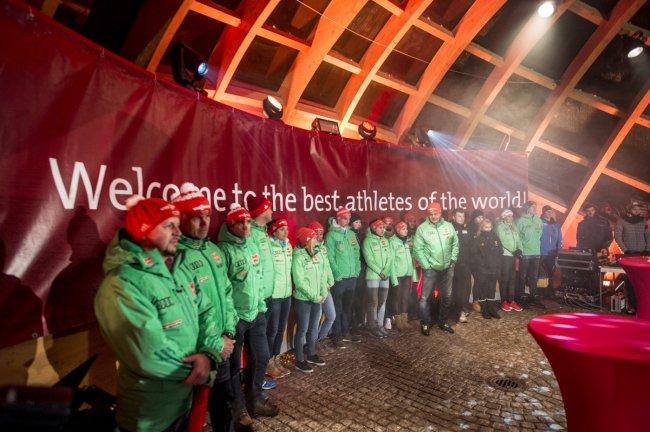 Oberstdorfs erfolgreiche WM-Starter beim WM-Empfang 2017