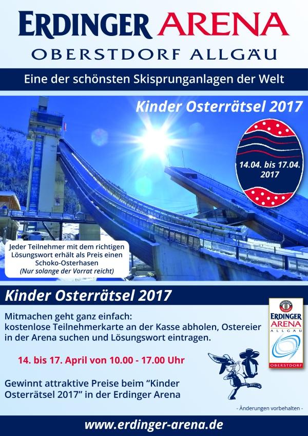 Plakat Ostereiersuche 2017