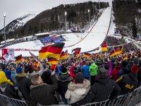 Tolle Stimmung beim FIS Weltcup Skifliegen 2017