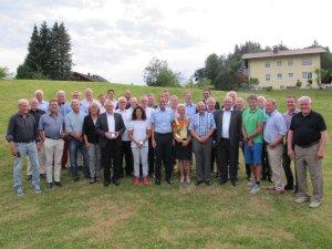 Die Gründungsmitglieder von ProSport wurden im Rahmen der Mitgliederversammlung geehrt.