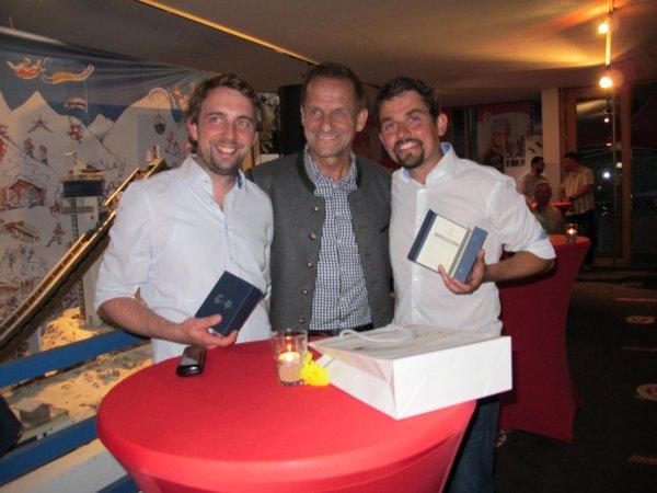Verabschiedung Stefan Huber und Dominik Fritz