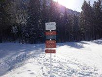 Skilanglauf Wegweiser