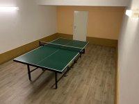 Tischtennis Raum in Souterrain