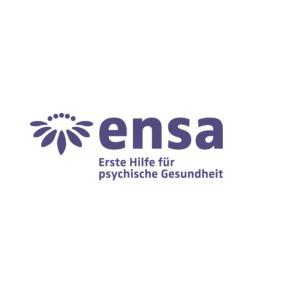 Ensa-Logo auf weiss