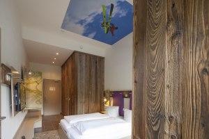 Trendige Design-Zimmer