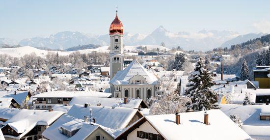 Winter in Nesselwang - ein Traum!