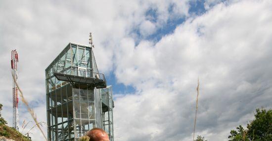 Vom Nationalpark Panoramaturm die Aussicht genießen