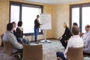 Nutzen Sie die Tagungsräume ganz nach Ihrem Belieben!