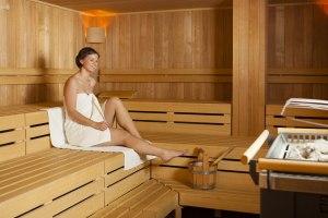Sauna im Sport Spa