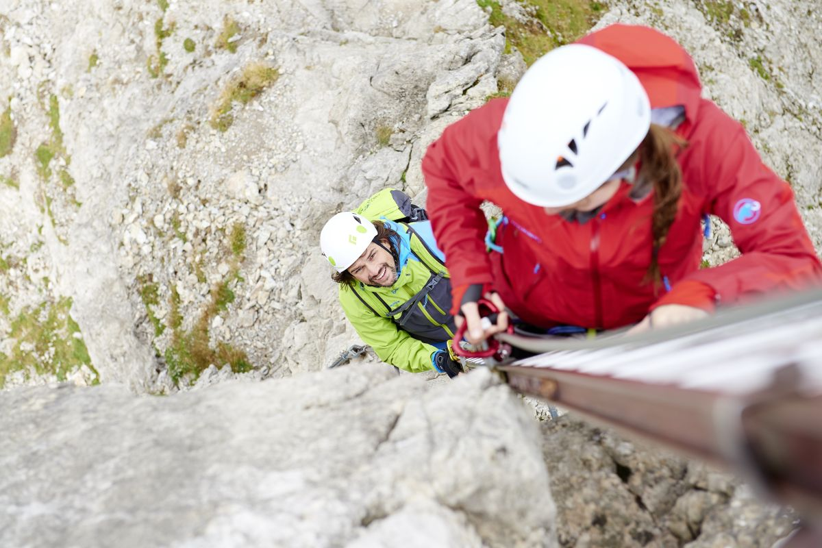 Welcher Klettergurt Für Klettersteig : Klettersteig talbach im explorer hotel zillertal urlaub