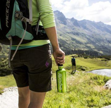 Explorer Hotels Flasche - Dein Begleiter bei Wanderungen
