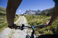 Mountainbiken im Silbertal im Montafon