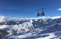 Neuschnee in der Silvretta Montafon