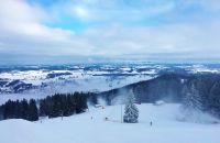 Unterwegs an der Alpspitze in Nesselwang