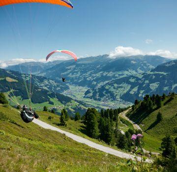 Paragliden am Actionberg Penken im Zillertal