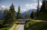 Die Aussicht genießen beim Wandern im Zillertal