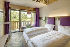 Gemütliches Doppelzimmer mit tollem Ausblick