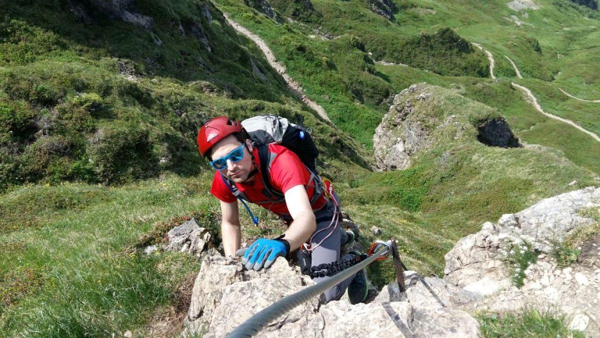 Klettersteig Kitzbüheler Horn : Klettersteigtouren kitzbüheler alpen alpinschule rock n roll