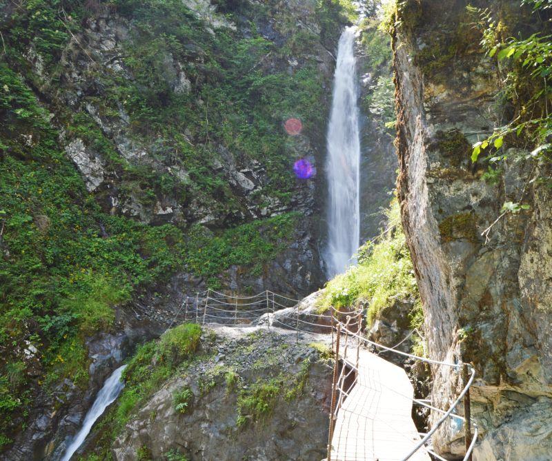 Explorer Hotel Oberstdorf: Wandertouren: Eifersbacher Wasserfall Wandern In St