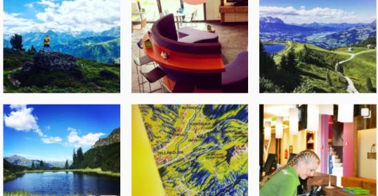 Instagram Bilder der Explorer Hotesl