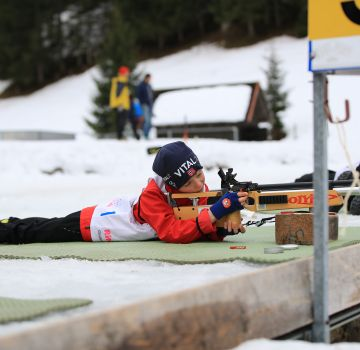 Biathlon in Hinterstoder
