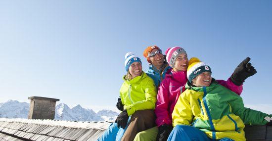 Skifahren auf der Höss im Familienurlaub