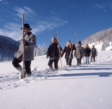 Schneeschuhwandern rund um Hinterstoder